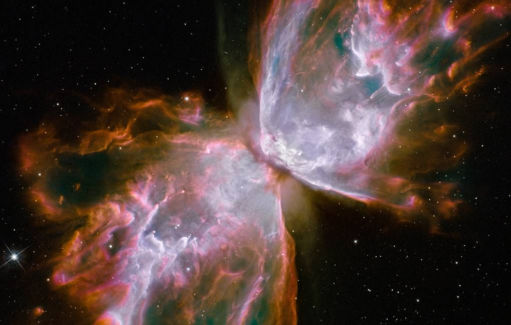 Astronomers have found a source of ultraviolet clots in an intergalactic environment