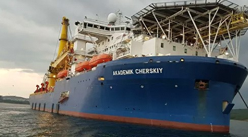 """Heading for the Baltic. The location of the pipe-laying machine """"Akademik Chersky"""" appeared"""