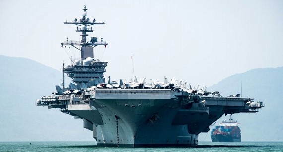 Another American aircraft carrier has an outbreak of coronavirus