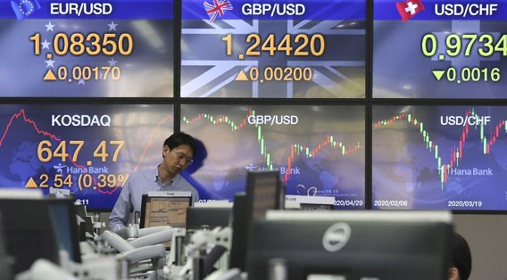 Asian markets and oil prices show growth