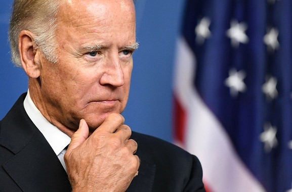 Biden says he has