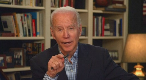 Biden criticized Trump for being slow in the fight against coronavirus
