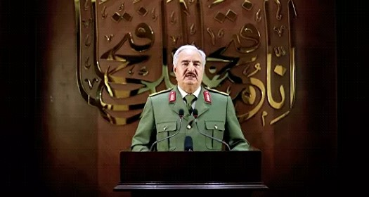 Egypt called Haftar's actions a response to Turkish aggression