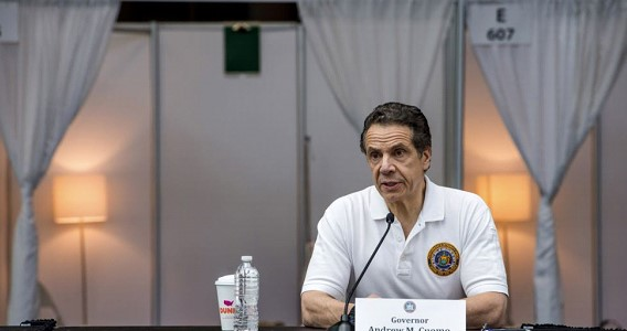 Governor Cuomo: China and the state of Oregon handed over more than 1,000 ventilators to New York