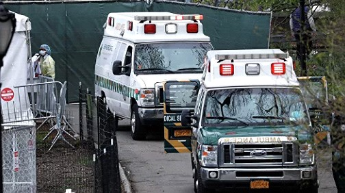 In New York State, the number of victims of coronavirus exceeded ten thousand people