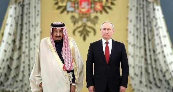 Russia and Saudi Arabia put aside their oil differences and agreed to move forward