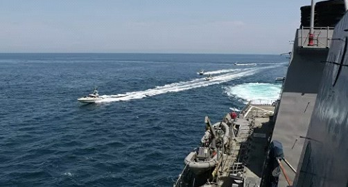 Russia has called on the US and Iran to exercise restraint in the Persian Gulf