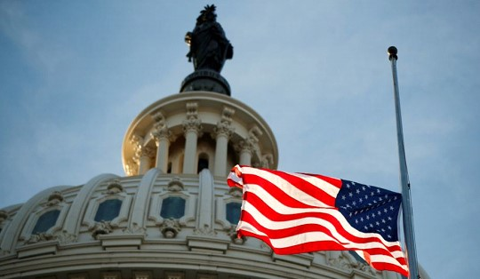 The Senate approved additional assistance to small businesses and hospitals