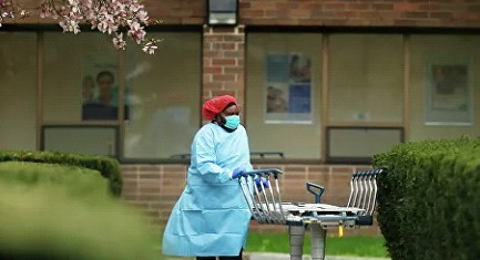 The number of victims of coronavirus in the United States exceeded 18 thousand people