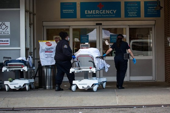 The number of victims of coronavirus in the United States exceeded 21.4 thousand people