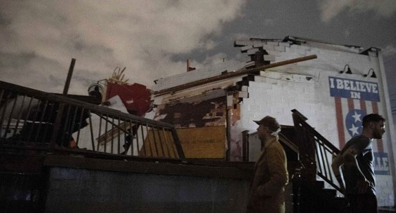 Victims of storms in the South-East of the United States were 18 people