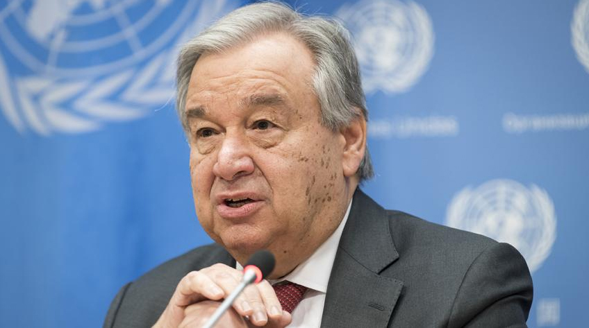 UN Secretary-General: the pandemic has become the most serious crisis since World War II