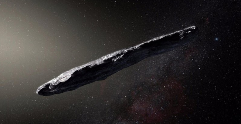 Scientists told how the unusual asteroid Oumuamua was formed