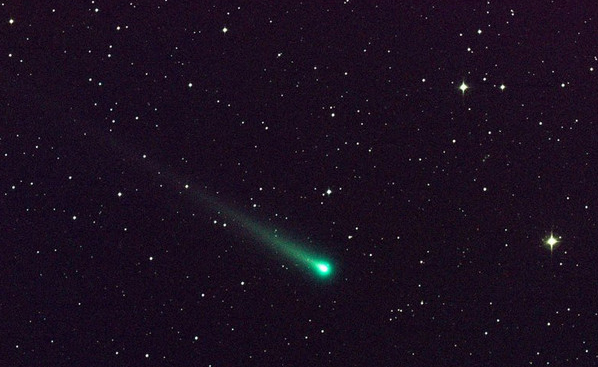 Comet ATLAS began to fall apart on approach to the Sun