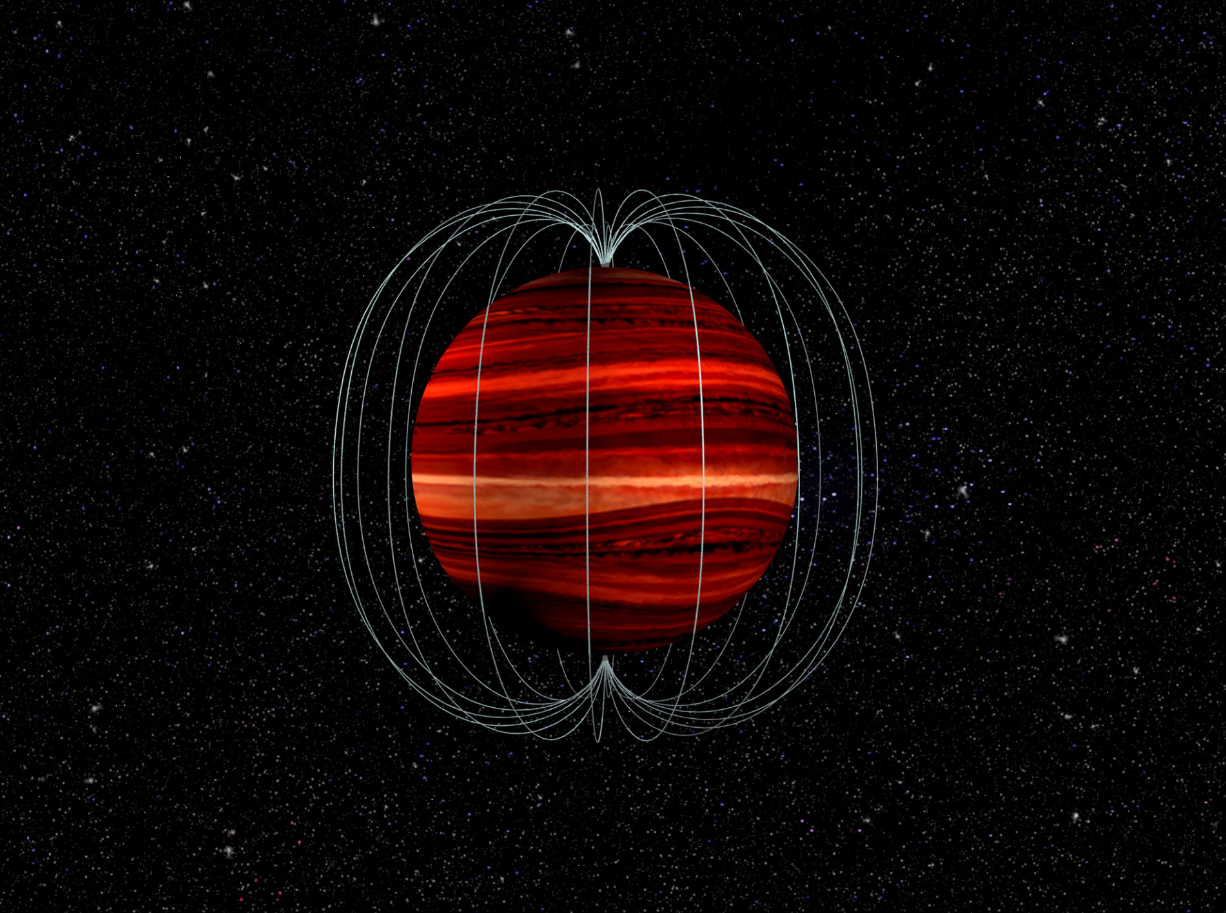 Astronomers first measured wind speed on a brown dwarf