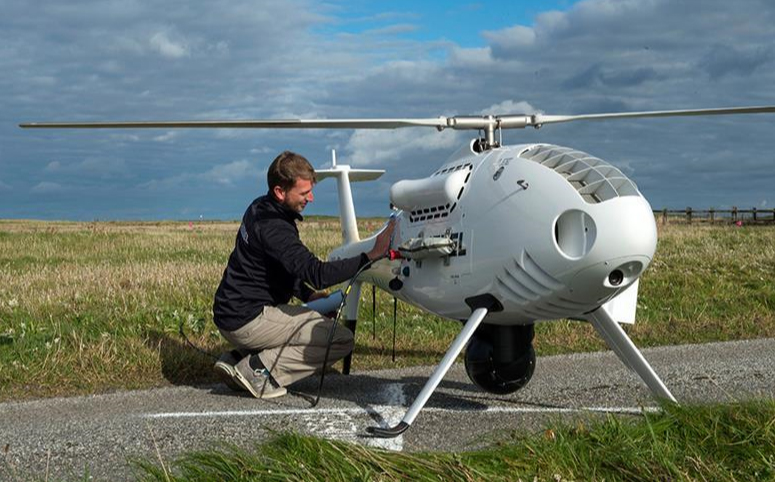 Light unmanned helicopter experienced delivery of ammunition