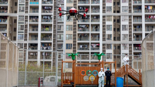 UK calls for drones to disinfect public spaces