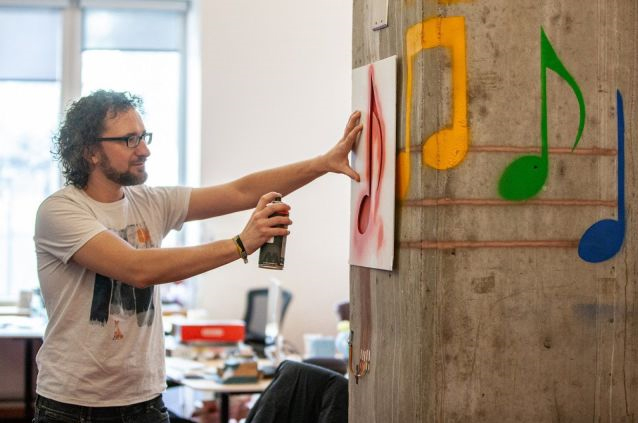 Scientists have turned graffiti into interactive surfaces