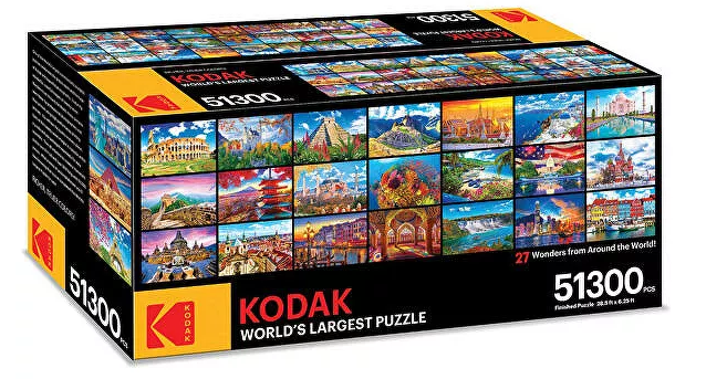 The largest puzzle in the world is on sale