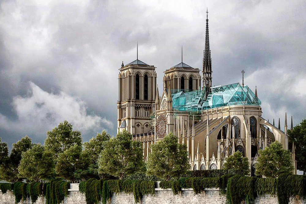 Notre Dame tour in virtual reality