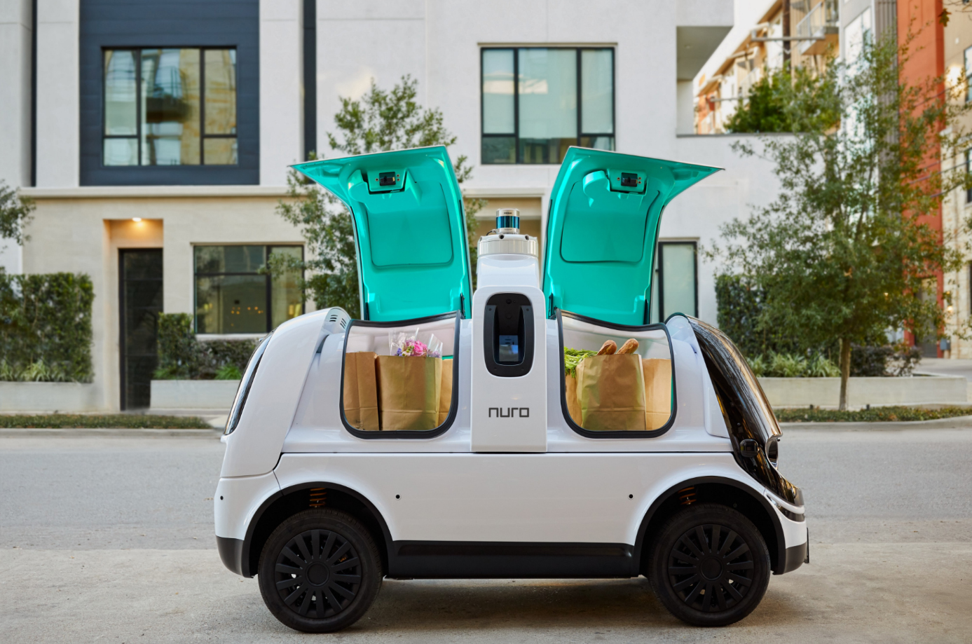 U.S. authorities in record time approve testing of Nuro robot couriers