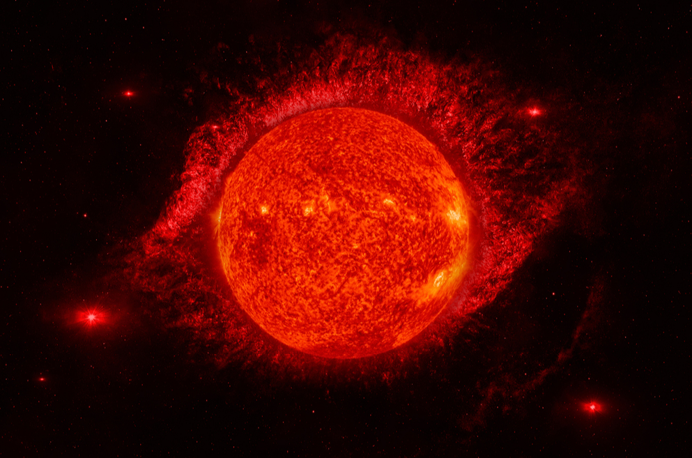 Astronomers have discovered a binary system of red dwarfs with a strange elongated orbit