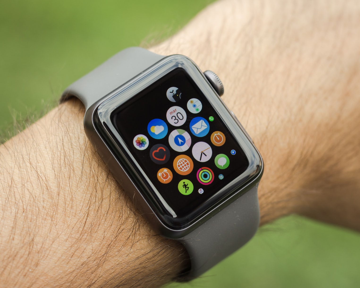 A hair-sized battery can power a smartwatch for two years