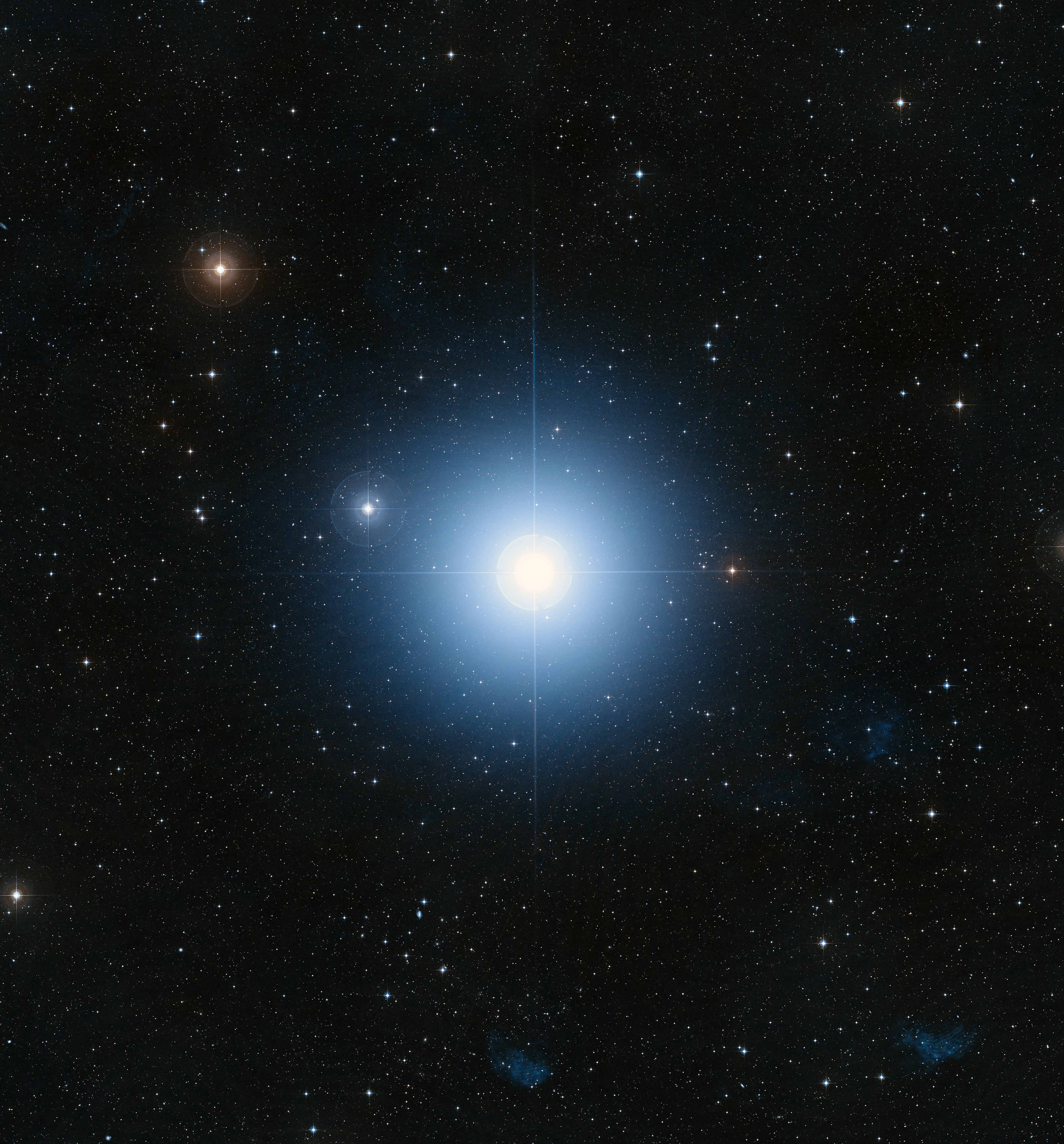 star in space